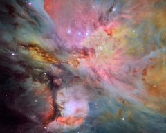 Picture Nebulae in space Orion Nebula Messier 42 M42 5120x4096