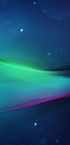 vn20 abstract variation blue line hazy design light Wallpapers 720 x