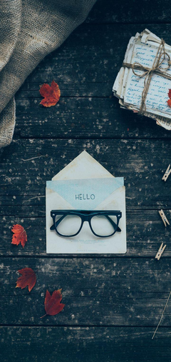 Envelope Letters Glasses Wallpapers