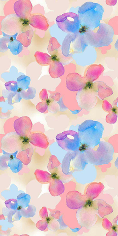 Watercolor Flowers iPhone Wallpapers Luna PanPins