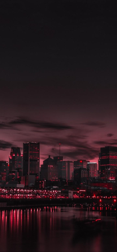 City Night Panorama Wallpapers