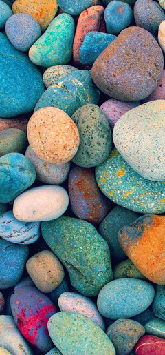 Multicolored Stones Wallpapers
