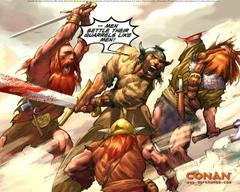Conan Desktops Dark Horse Comics