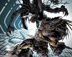 Aliens vs Predator Three World War Desktops Dark Horse Comics