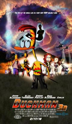 cartoni animati immagini Duckman Movie