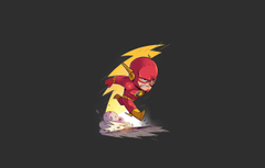 Wallpapers red logo yellow dust speed hero DC Comics fast
