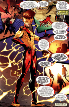 Bart Allen returns as Kid Flash in the New 52 YES