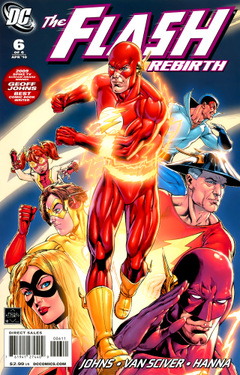 Flash Rebirth Vol 1 6