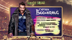 Captain Boomerang image Captain Boomerang s Meet the Team Promo