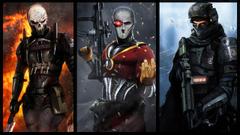 Wallpapers Heroes comics Warriors LMS Dan Luvisi Abaddon Deadshot