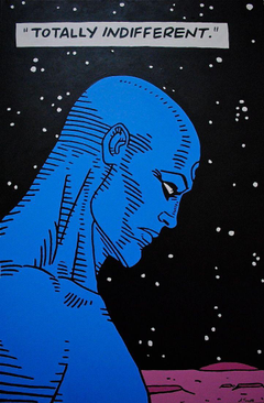 Dr Manhattan Watchmen favorite character maybe my favorite of all