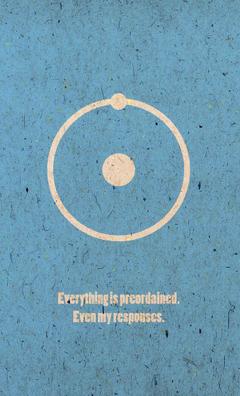 Watchmen Dr Manhattan Minimalism Poster by Jackbamm