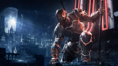 Arkham Origins Deathstroke Wallpapers