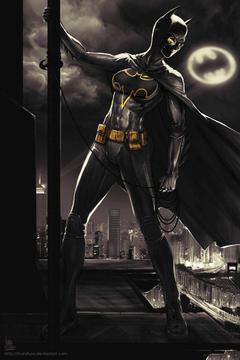 Cassandra Cain Batgirl by transfuse on deviantART
