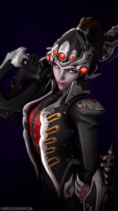 Ultra HD 4K widowmaker huntress overwatch by lemon100 da5oy8e UHD