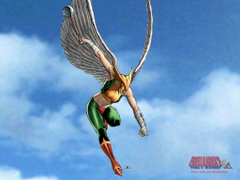 HawkGirl is my favorite comic book character ever EVER