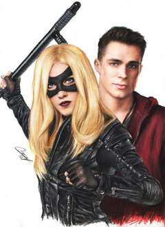 arrow roy harper black canary colton haynes katie by CansuVURAL on