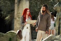 Arthur Curry And Mera In Aquaman Desktop Wallpapers