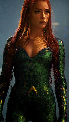Amber Heard As Mera In Aquaman Full HD Wallpapers