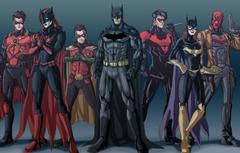 Wallpapers Batman Bruce Wayne Batgirl Red Hood Tim Drake