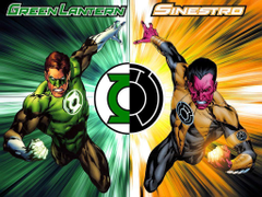 Thor Loki VS Hal Jordan Sinestro