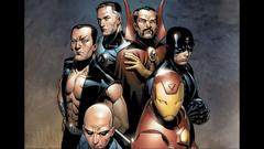 Illuminati Iron Man Charles Xavier Mr Fantastic Doctor