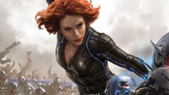 movies Scarlett Johansson Black Widow The Avengers Avengers Age