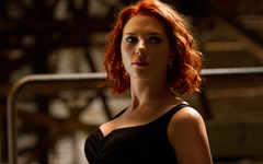 Wallpapers Black Widow Natasha Romanoff Scarlett Johansson 4K