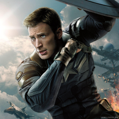 Captain America Chris Evans Winter Soldier