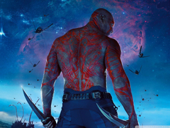 Guardians Of The Galaxy Drax The Destroyer HD desktop wallpapers