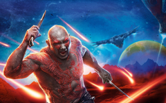 Wallpapers Drax the Destroyer Dave Bautista Guardians of the