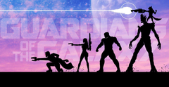 Guardians Of The Galaxy Star Lord Gamora Drax The Destroyer
