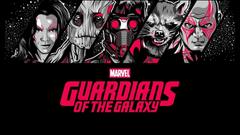 Guardians Of The Galaxy Star Lord Gamora Rocket Raccoon Groot