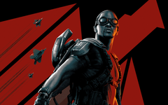 Wallpapers Anthony Mackie Sam Wilson Falcon Marvel Comics 5K