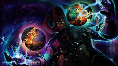 Galactus vs An army of street levellers