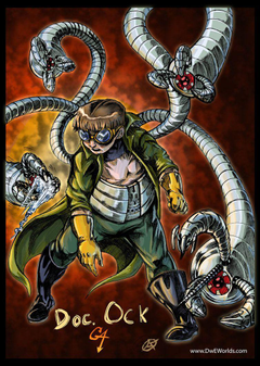 Doctor Octopus GA Redesign full color by ScionStorm