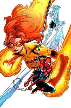 Angelica Jones a k a Firestar Throwback to Spider