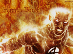 Pix For The Human Torch Wallpapers