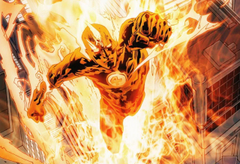 Human Torch hd comic photos