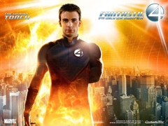 Wallpapers Fantastic 4 Chris Evans Human Torch Johnny Storm Rise