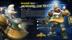 ENTERING MARVEL CONTEST OF CHAMPIONS HOWARD THE DUCK
