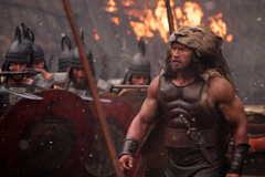 Hercules Image Dwayne Johnson Battles a Lion a Giant Boar and
