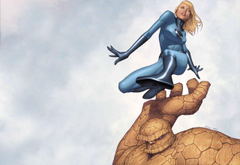 Invisible Woman Thing Marvel Comics Invisible Woman thing Marvel