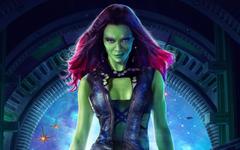 Zoe Saldana as Gamora Wallpapers