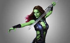 Gamora Guardians Of The Galaxy Wallpapers HD Desktop and Mobile