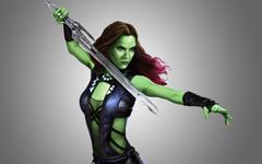 Gamora Saldana of the Galaxy