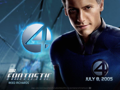 The only Mr Fantastic Ioan Gruffudd as Reed Richards