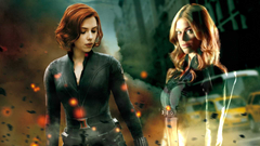 ADRIANNE PALICKI Dreams of Mockingbird Fighting Beside Black Widow