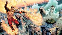 Flames comics destruction Namor The Submariner Avengers vs X