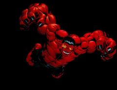 Red Hulk Render by bobhertley